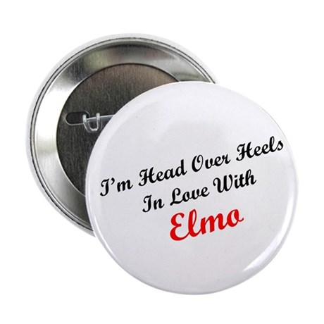 """In Love with Elmo 2.25"""" Button (100 pack)"""