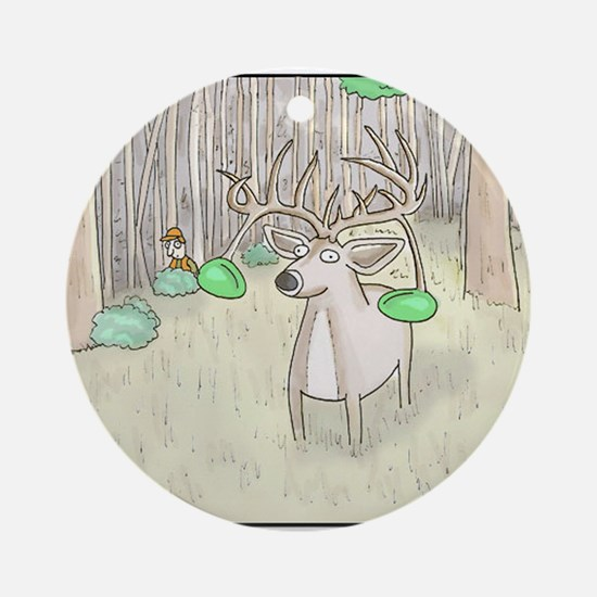 The-Buck Round Ornament