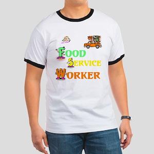 Food Service Worker Ringer T