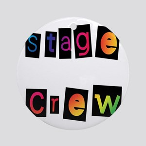 Stage Crew Ornament (Round)