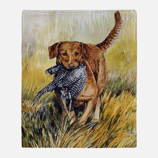 Chessie w Ph Master for CafePress Throw Blanket