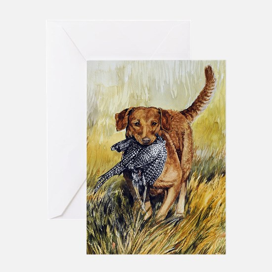 Chessie w Ph Master for CafePress Greeting Card