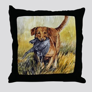 Chessie w Ph Master for CafePress Throw Pillow