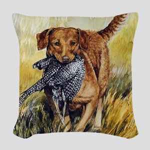 Chessie w Ph Master for CafePr Woven Throw Pillow