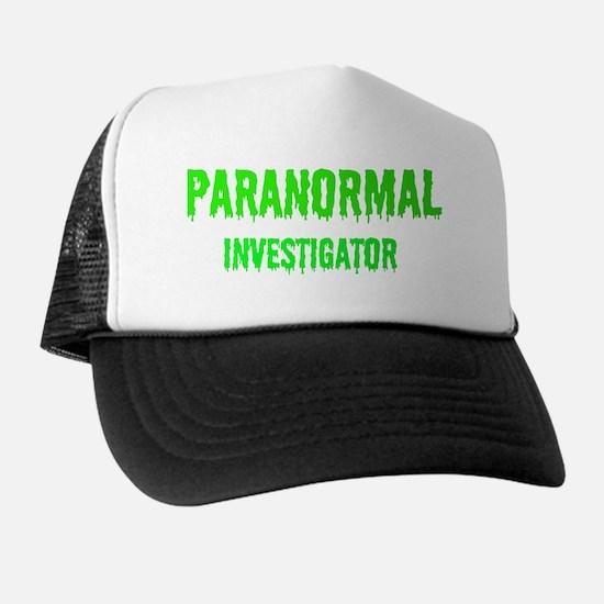 Creepy Legends Paranormal Investigator Trucker Hat
