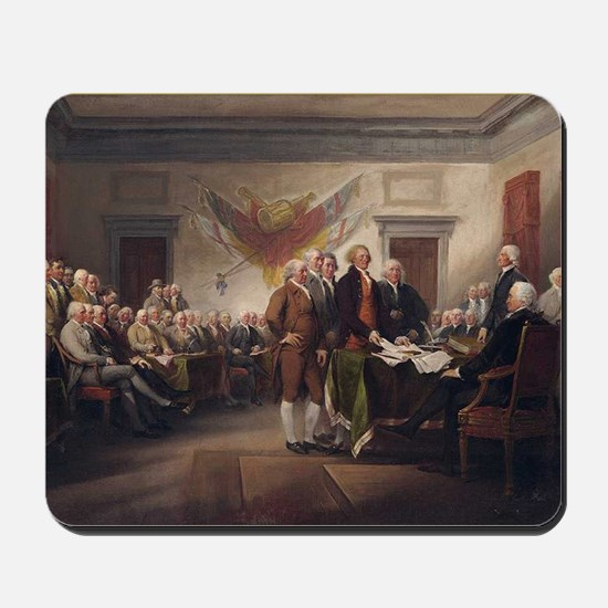 declaration-of-independence-trumball-bor Mousepad