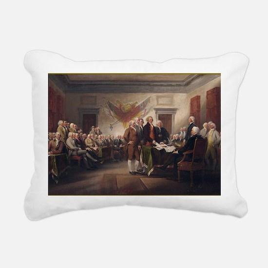 declaration-of-independe Rectangular Canvas Pillow