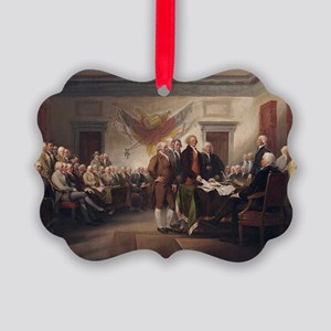declaration-of-independence-trumb Picture Ornament