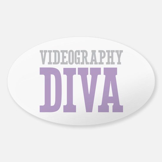 Videography DIVA Sticker (Oval)