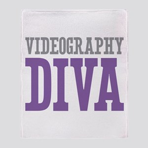 Videography DIVA Throw Blanket