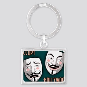 occupy-hollywood-CRD Landscape Keychain