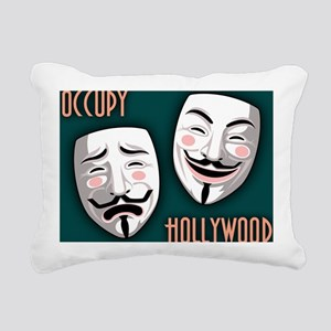 occupy-hollywood-CRD Rectangular Canvas Pillow