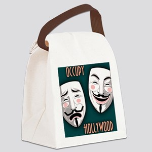occupy-hollywood-BUT Canvas Lunch Bag