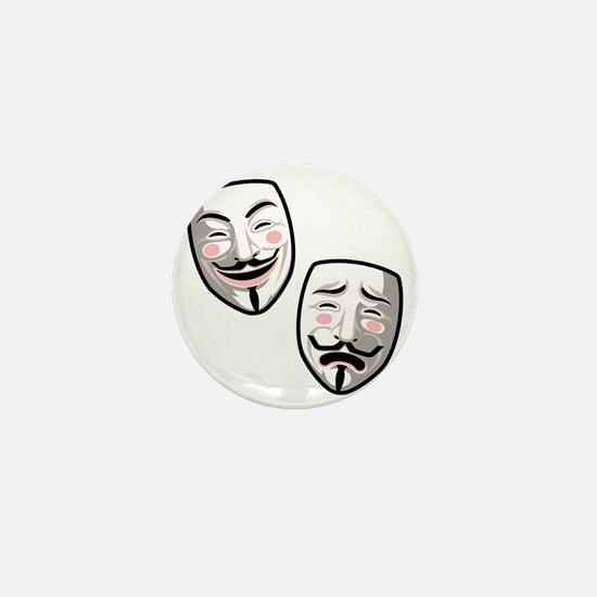 occupy-hollywood-T Mini Button