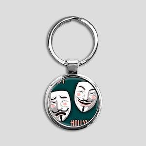 occupy-hollywood-TIL Round Keychain