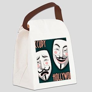 occupy-hollywood-LG Canvas Lunch Bag