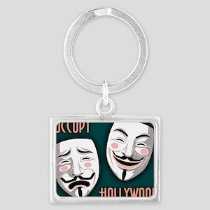 occupy-hollywood-LG Landscape Keychain