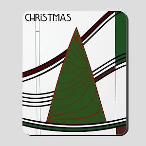 Mackintosh Inspired Christmas Tree Mousepad