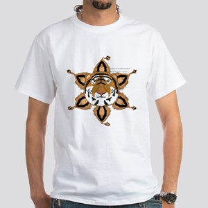 Tiger Tails White T-Shirt