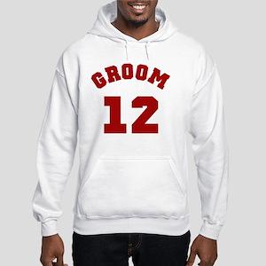 groom12red Hooded Sweatshirt