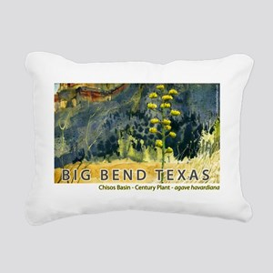 bigbend_basin Rectangular Canvas Pillow