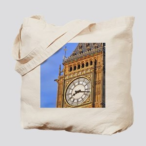 Famous Big Ben clocktower, a London landm Tote Bag