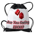 Are You Feeling LUCKY Drawstring Bag