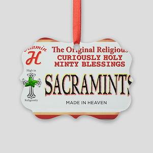 sacramints Picture Ornament