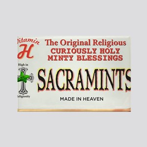 sacramints Rectangle Magnet