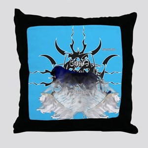 Lion Infusion Throw Pillow