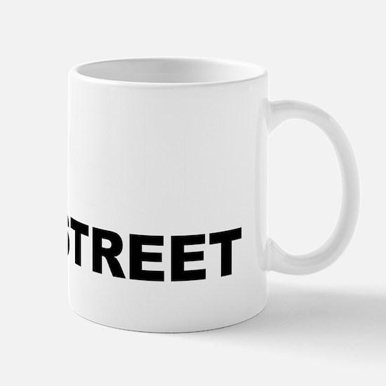 Prosecute Wall Street reverse Mug