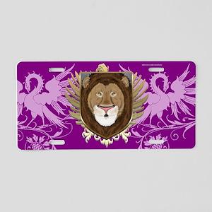 Lion Shield 2 Aluminum License Plate