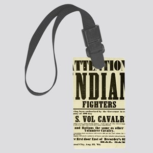 indianfighters Large Luggage Tag