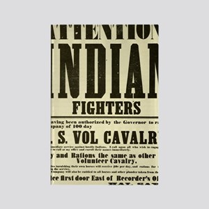 indianfighters Rectangle Magnet