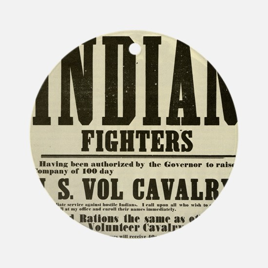 indianfighters Round Ornament