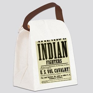indianfighters Canvas Lunch Bag