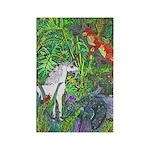 Suprise! Unicorn Rectangle Magnet (100 pack)