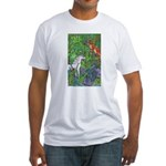 Suprise! Unicorn Fitted T-Shirt