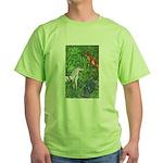 Suprise! Unicorn Green T-Shirt