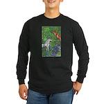 Suprise! Unicorn Long Sleeve Dark T-Shirt