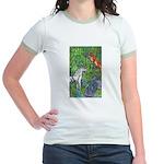 Suprise! Unicorn Jr. Ringer T-Shirt