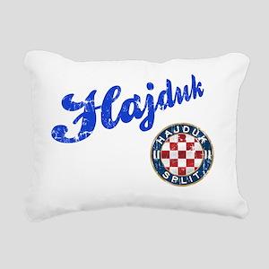 hajduk-shirt Rectangular Canvas Pillow