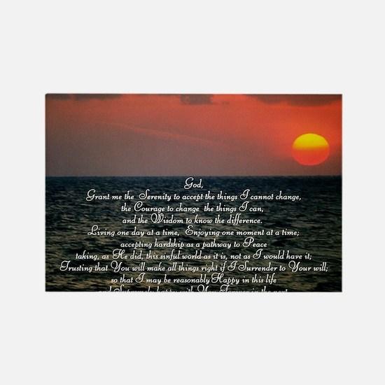 sunrise serenity Rectangle Magnet