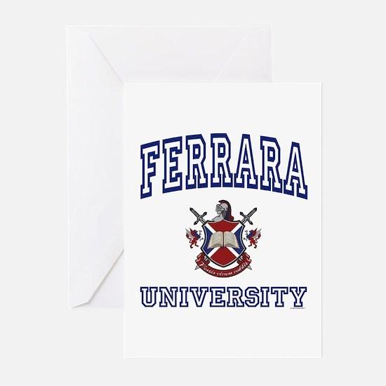 FERRARA University Greeting Cards (Pk of 10)
