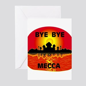 BYE BYE MECCA Greeting Cards (Pk of 10)
