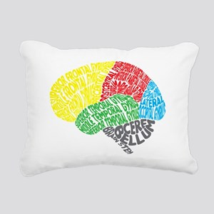 Your Brain (Anatomy) on  Rectangular Canvas Pillow