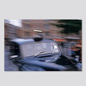 Taxi; London; England Postcards (Package of 8)