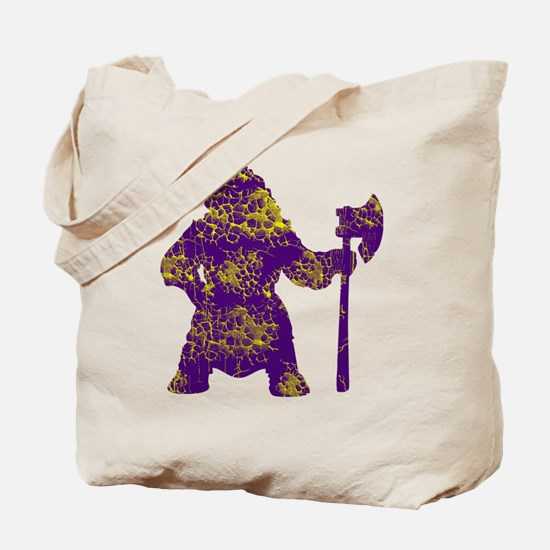 vikingsyellowpurpe Tote Bag