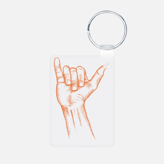 HANG LOOSE DUDE Keychains