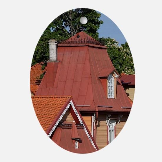 Estonia, Western Estonia Islands, Sa Oval Ornament